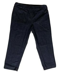 Soft Surroundings Cropped Skinny Jeans SZ L